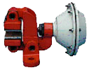 Pneumatic Active disc brakes
