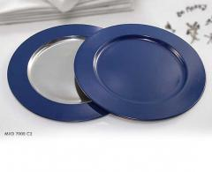 Charger Plate W/Color Pattern