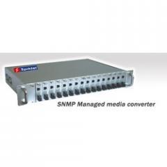 SNMP Managed Media Converter