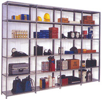 Bolted Type Storage Shelves
