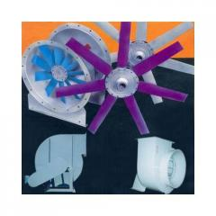 Centrifugal Blowers And Axial Flow Fans