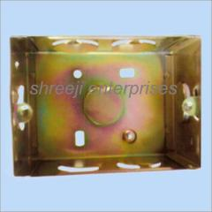 M.S Metal Box Zinc Plated (Modular Box)