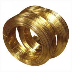 Brass wire, silver wire.
