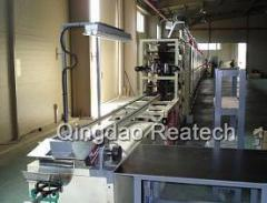 Equipment for the production of welding electrodes