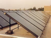 Institutional Solar Water Heating System