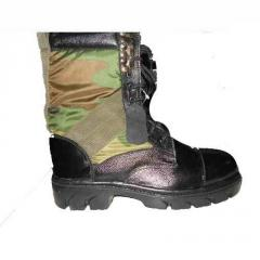 Leather Military Shoes
