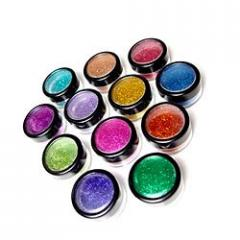 Vibrant Colour Glitter Powders