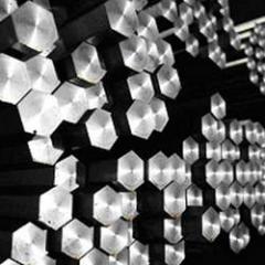 Hexagons  Steel Bars