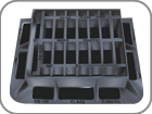 Municipal Captive Hinged Gratings