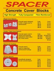 Concrete Cover Blocks - Spacer