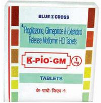 K-PIO-GM 1 mg Tablets