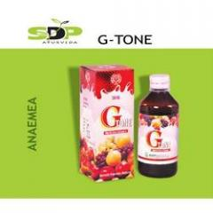 Pharmaceutical products - G-Tone (Anaemea)