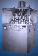 Gmp Model Double Rotary Compression Machine