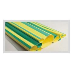 Green Yellow Striped Tubing