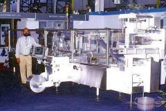 Blisterpacking machine
