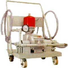 Centrifugal Lube Oil Filter Cart