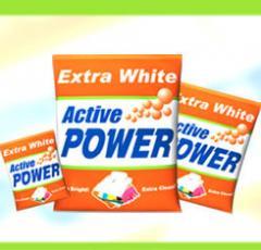 Active power detergent powder