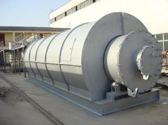 Waste tyre and waste plastic pyrolysis project