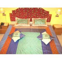 Silk Multi Color Bed Cover