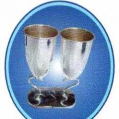Silver Wine Goblet