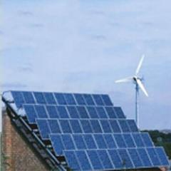 Hybrid Solar Wind Power System