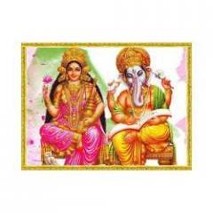 Laxmi Ganesh Painting