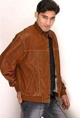 Leather Blousan