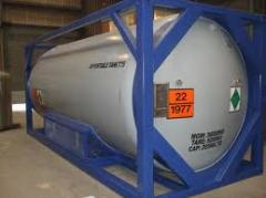 ISO Tank Container, HCL Tank, Rubber lined tank,