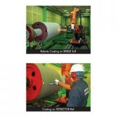 HP/HVOF Coating For Steel Industries