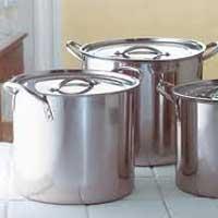 Steel Stock Pots