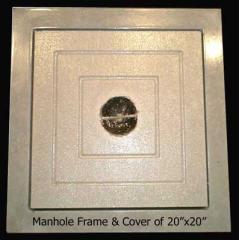 Manhole Frame & Cover of 20