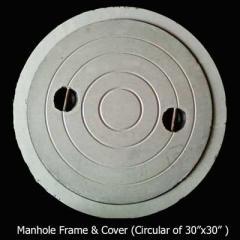 Manhole Frame & Cover(Circular of 30