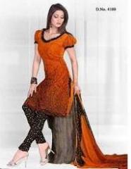 Dress material - Orange 60 GSM