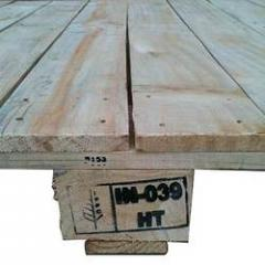 Pine Wood Pallets With FHAT As Per ISPM-15 Standard