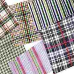 Check & Stripe Printed Fabrics