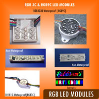 RGB LED Modules