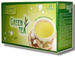 Green Tea With Lemon Ginger Flavour