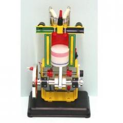 Sectional Working Model. Of 4 Stroke Diesel Engine
