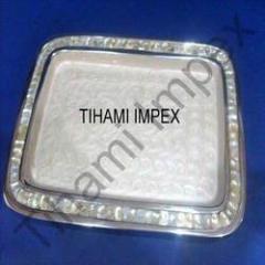 Aluminium Tray with Shell Border