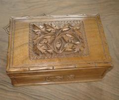 Wood Carving Box