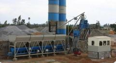 Concrete batching mixing plant, ready mix plant