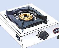 Single Burner Gas Stove (Taper)