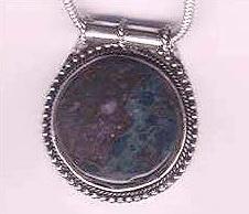 Silver Stone Pendants