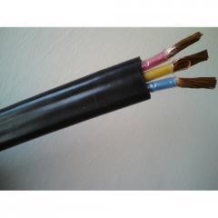 Способные погружаться в воду плоские кабели связи
