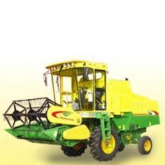 Tyre Combine Harvester Machine
