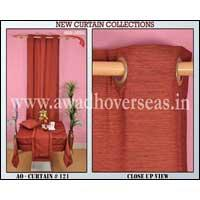 Polyester Dupion Curtain