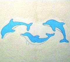 Printed Cotton Bath Mats