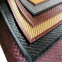 Pallet Design Leather Door Mat