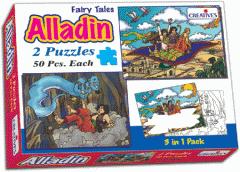Puzzles in a box - Aladdin