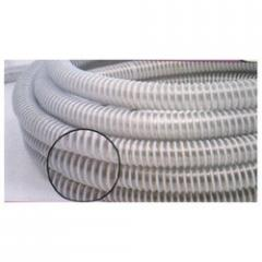 PU Hoses With Rigid PVC Helix